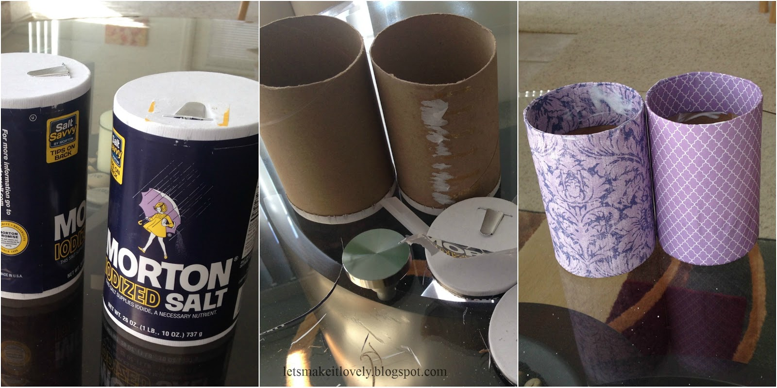 Reuse Salt Containers in your Style