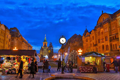 Timisoara , Christmas Fair in Opera Square
