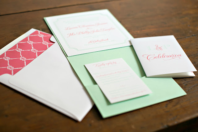 Galley Beach Wedding Invitation