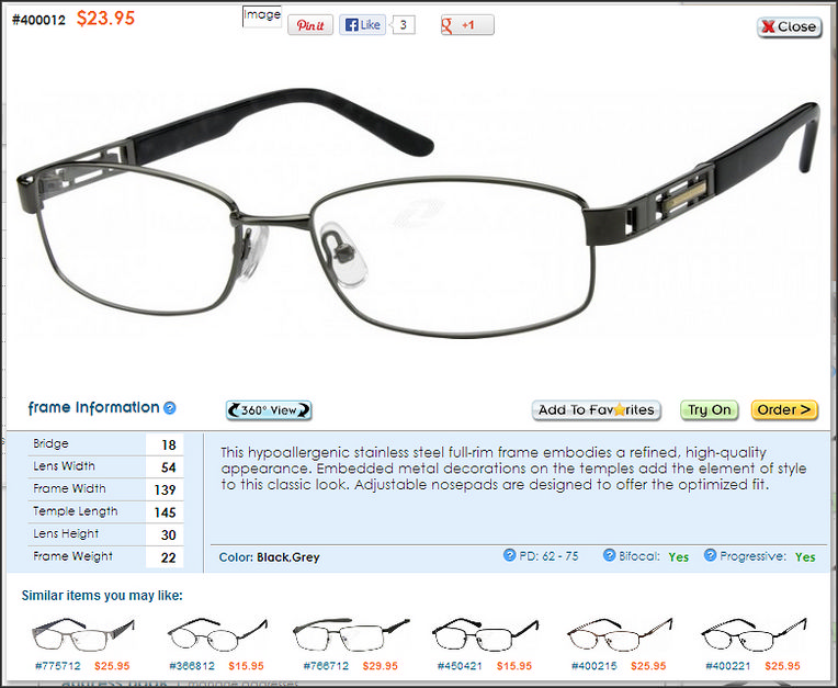Low Cost, High Quality Eyeglasses at Zenni Optical