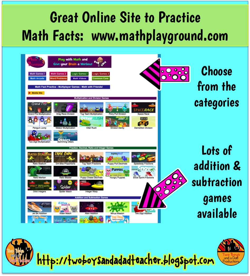Fancy Math Facts Practice Online Illustration - Worksheet Math for ...