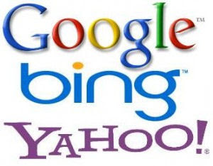 Search Engine Google-Bing-Yahoo