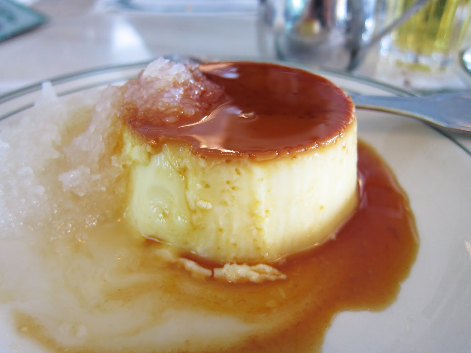 Coconut Flan The flan with coconut,