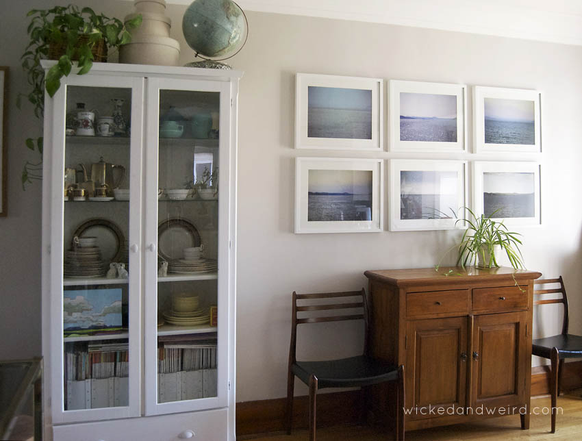 The Dining Room Is Much The Same, Although The Armoire Is Definitely  Crowded By The Brass Shelves. Gosh, That Silver Needs A Polish, Eh? Yikes.