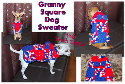 Ravelry: Granny Square Sweater pattern by Veronica Lacaille (VeeKnits)