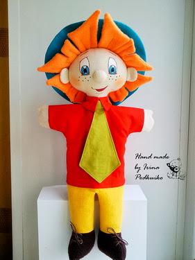 Кукла незнайка своими руками сшить 64