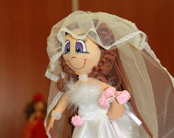 fofucha original novia para regalo despedida soltera