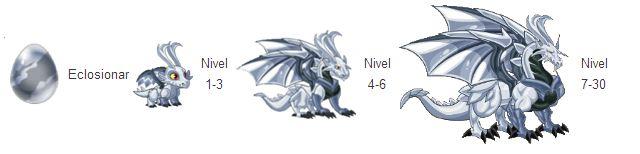 imagen de crecimiento del dragon platino