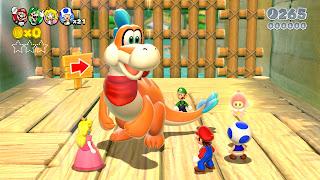 super mario 3d world screen 2 E3 2013   Super Mario 3D World (Wii U)   Logo, Concept Art, Screenshots, & Trailer