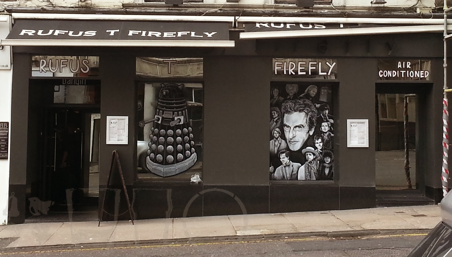 Dr Who, Rufus T Firefly, Glasgow
