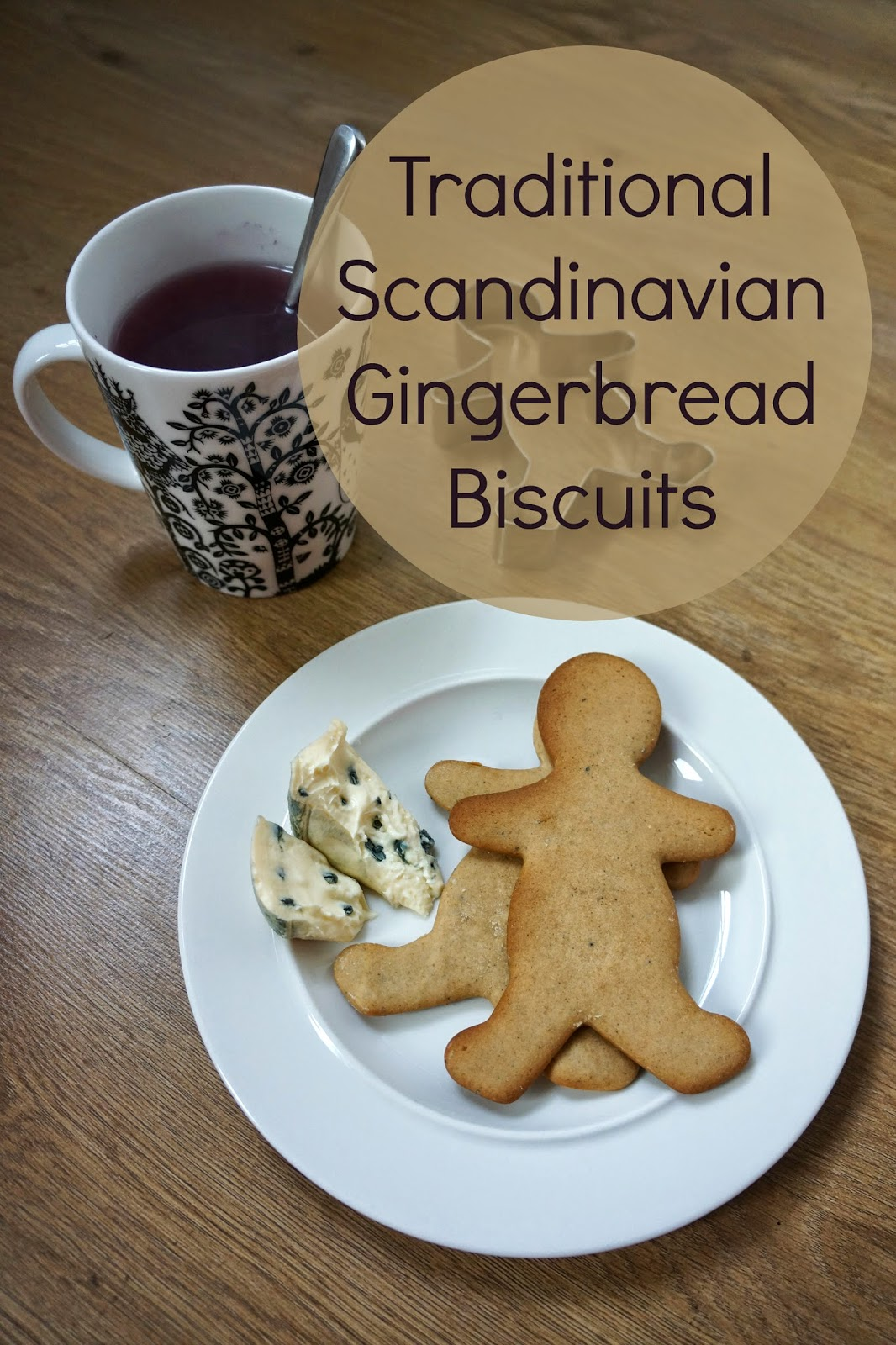 traditional scandinavian finnish gingerbread biscuits