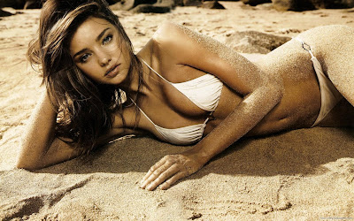 Miranda Kerr Victoria Secret Model Pretty Wallpaper