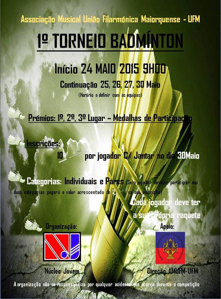 1º Torneio de Badminton