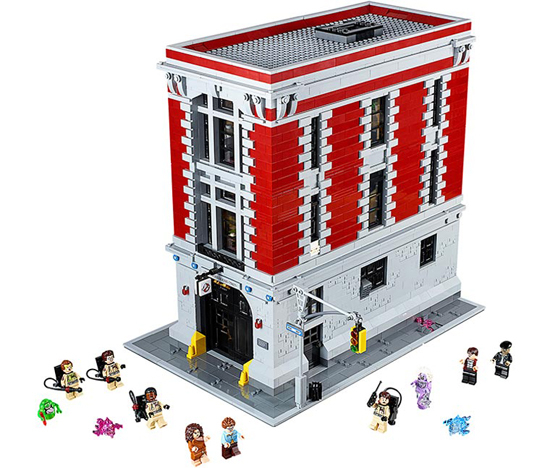New Ghostbusters LEGO Minifigs
