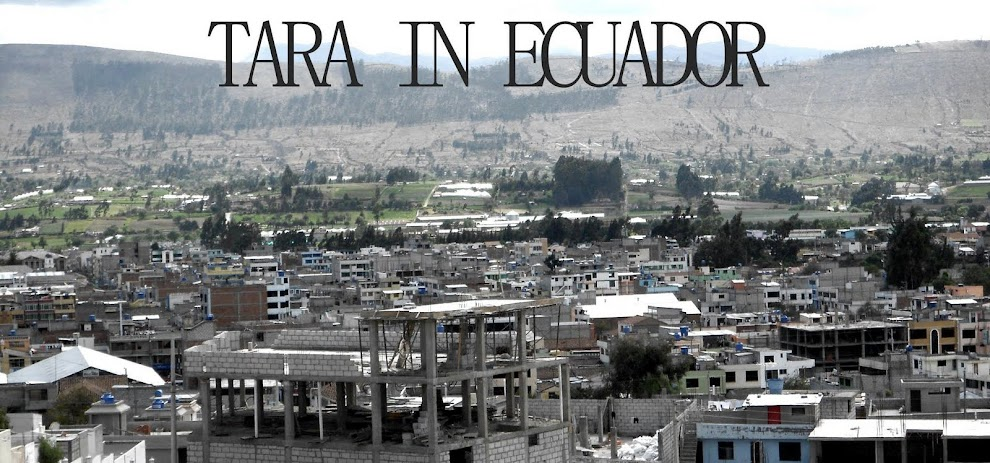 Tara in Ecuador!