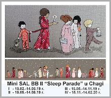 "Mini SAL BB II - ""Sleep Parade"""