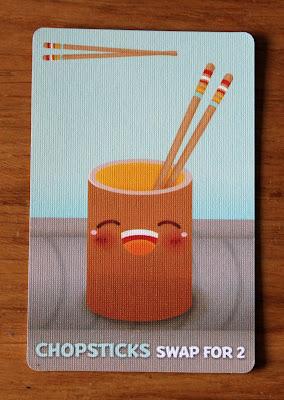 Sushi Go - chopsticks card | Random Nerdery