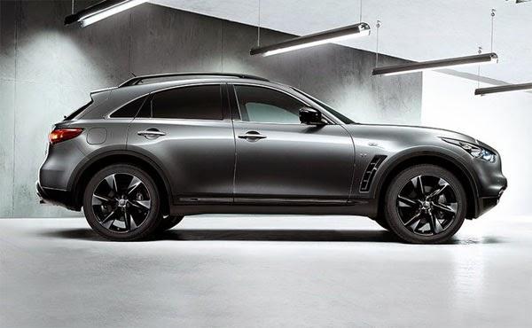 La nueva Nissan Infiniti QX70 Sport 2015