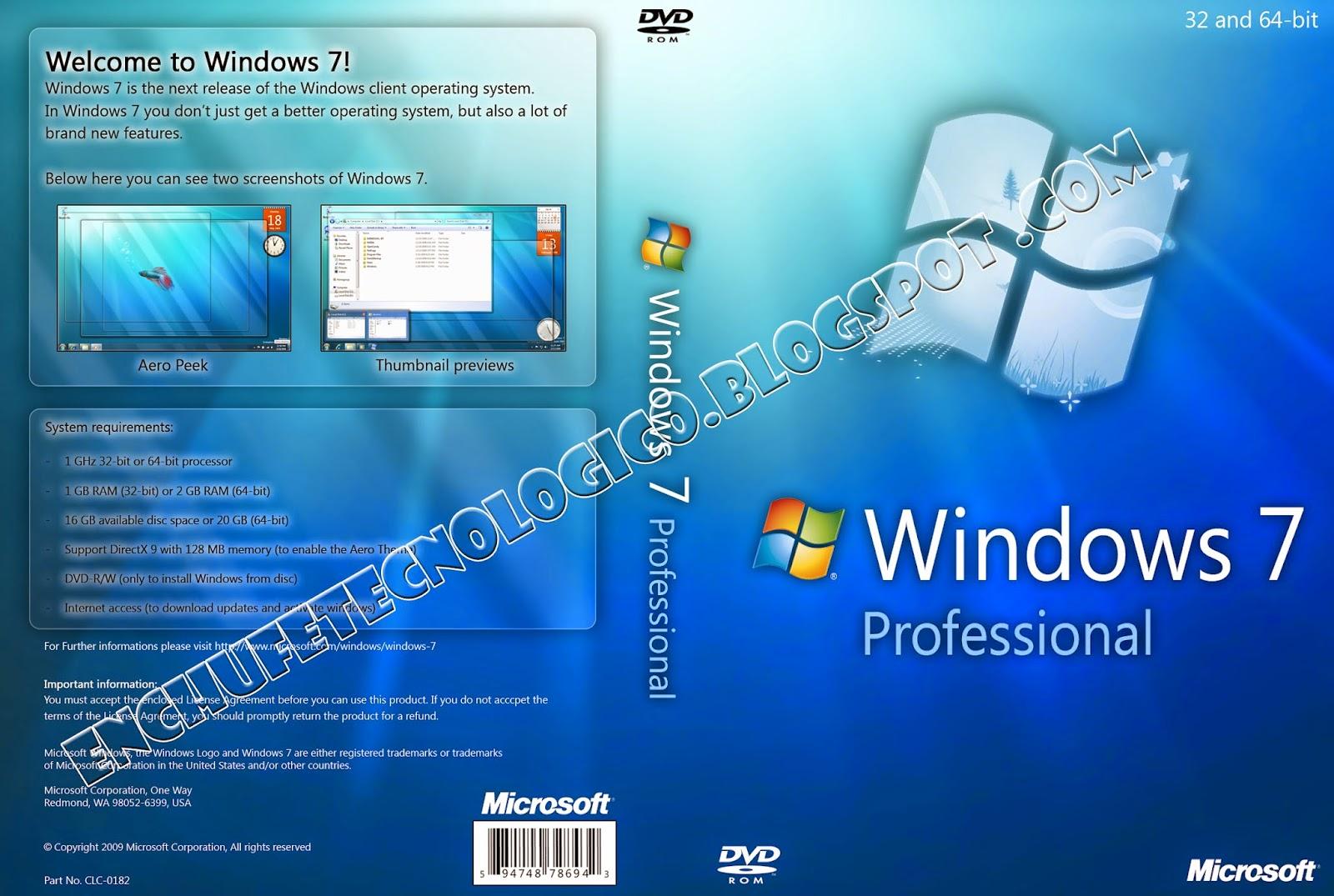 descargar windows 7 professional 64 bits microsoft