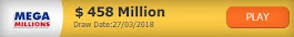 $458 Million Play The Multi-Million Dollar Lotteries From Anywhere In The World and Dream Big !!!
