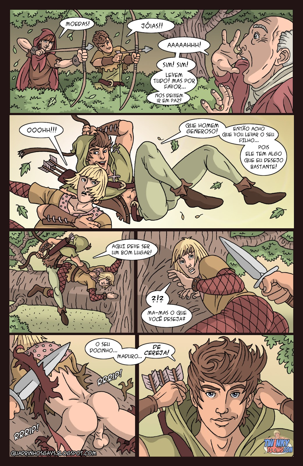 Robin hood comic porn latin
