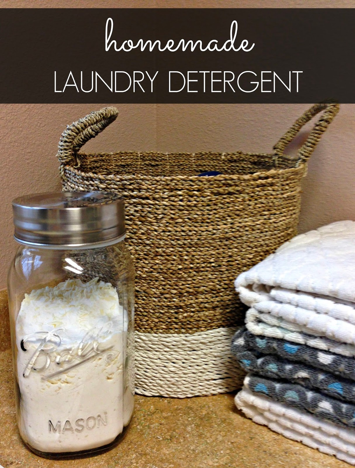 Homemade Laundry Detergent >> The Twisted Horn