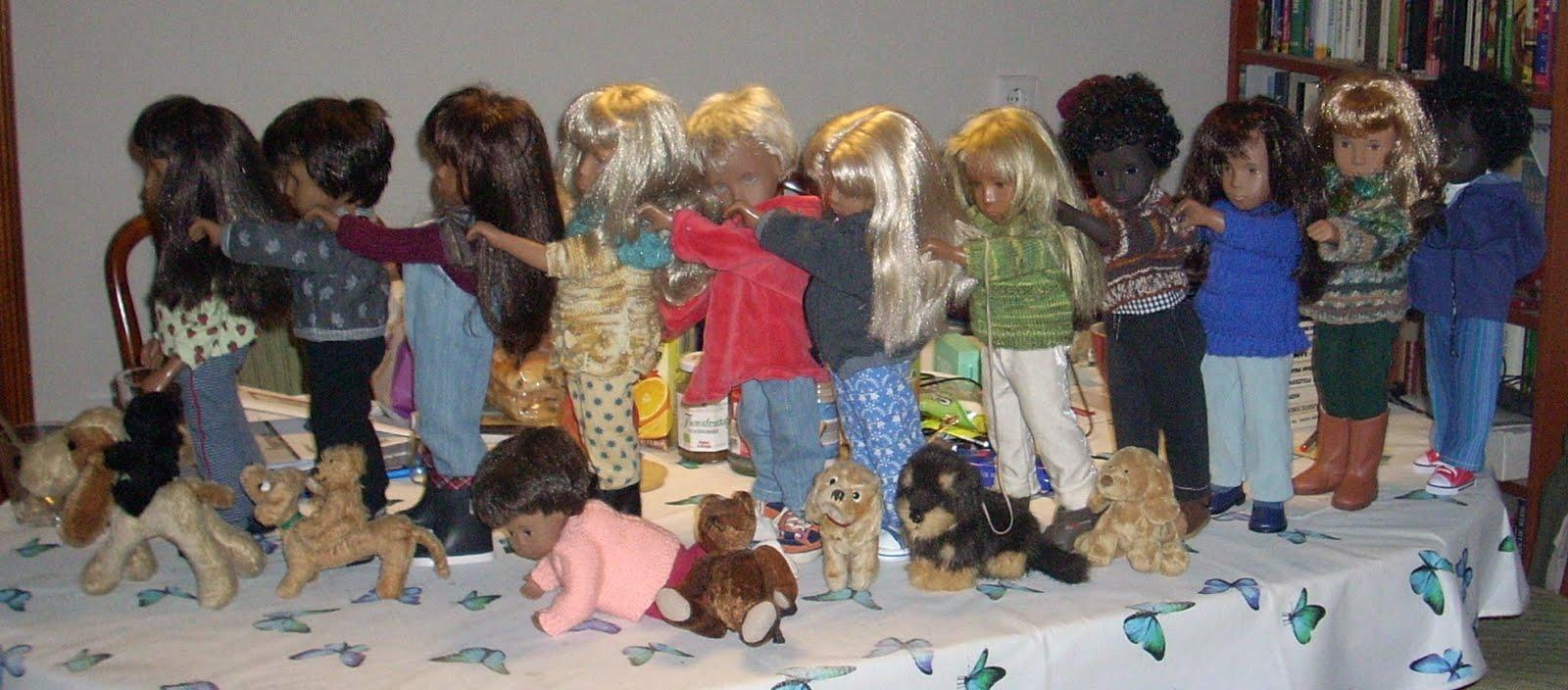 Von Puppen und Hunden