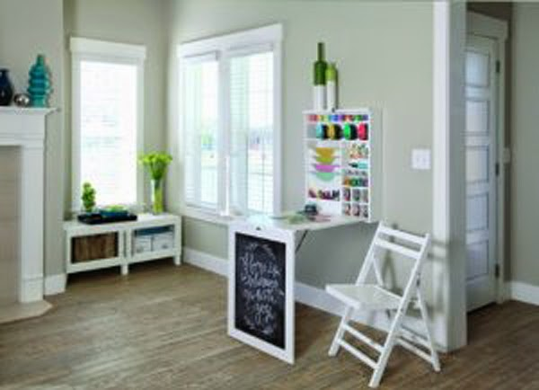 With Wall Mounted Folding Table Shelf With Memo Board You Can Save Space  When The Table Not Being Used. And Of Course Will Greatly Help Smoothing  Messy ...