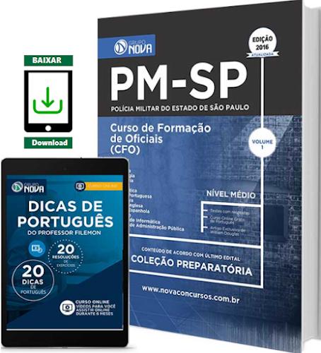 Apostila Polícia Militar de São Paulo - PM SP CFO - Curso de Formação de Oficiais