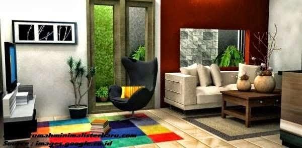 Gambar interior ruang keluarga