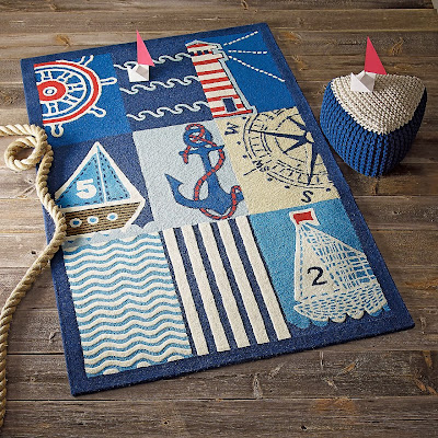 The Company Store maritime rug