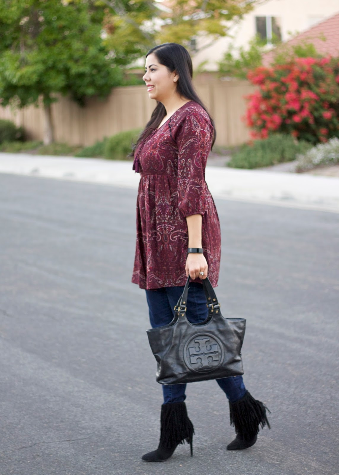 Fall paisleys, san diego fashion blogger, san diego style blogger, fall 2015 outfit, san diego fall fashion