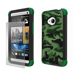 Carcasa HTC One beyond cell tri shield hybrid