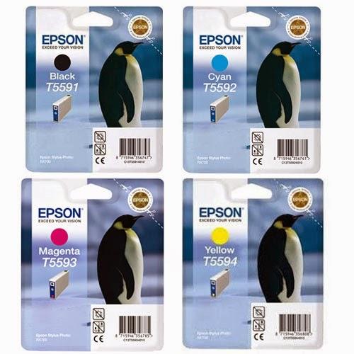 Epson T5591 - T5592 - T5593 - T5594