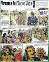 desene benzi desenate revista cutezatorii vlad tepes anton perussi vasile manuceanu istorie comics romania caricatures