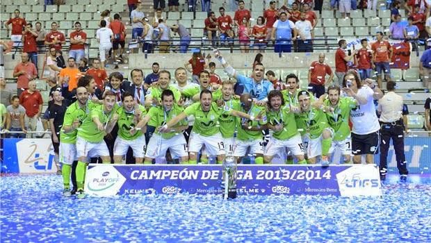 El Inter Movistar se proclamó campeón de liga 2013/2014