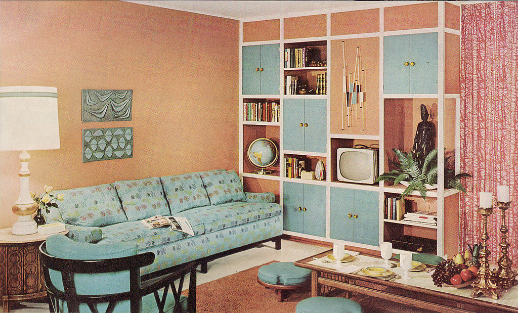 I Have Seen The Whole Of The Internet: Kitschy Living Room
