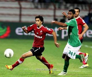 اهداف مباراة الاهلي والشباب 1-1 + ضربات الجزاء الترجيحية 5-3 + تتويج الاهلي في الكأس 21-5-2012