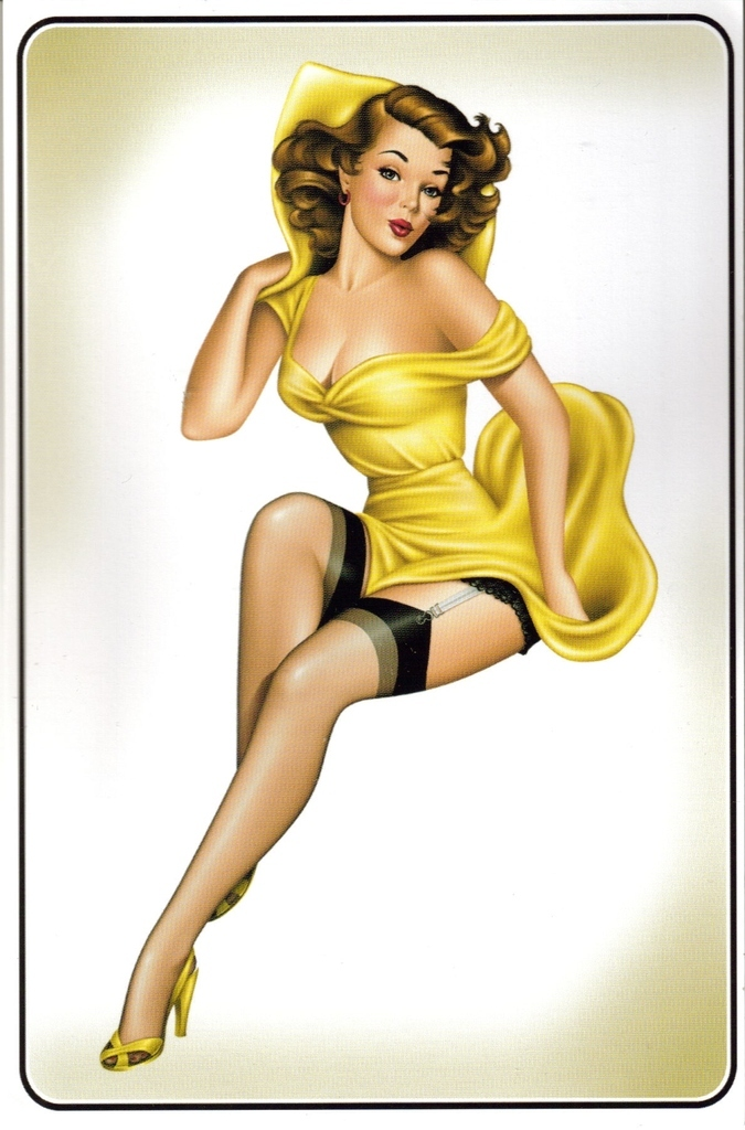 Vintage Pinup Decal Camvideos 1