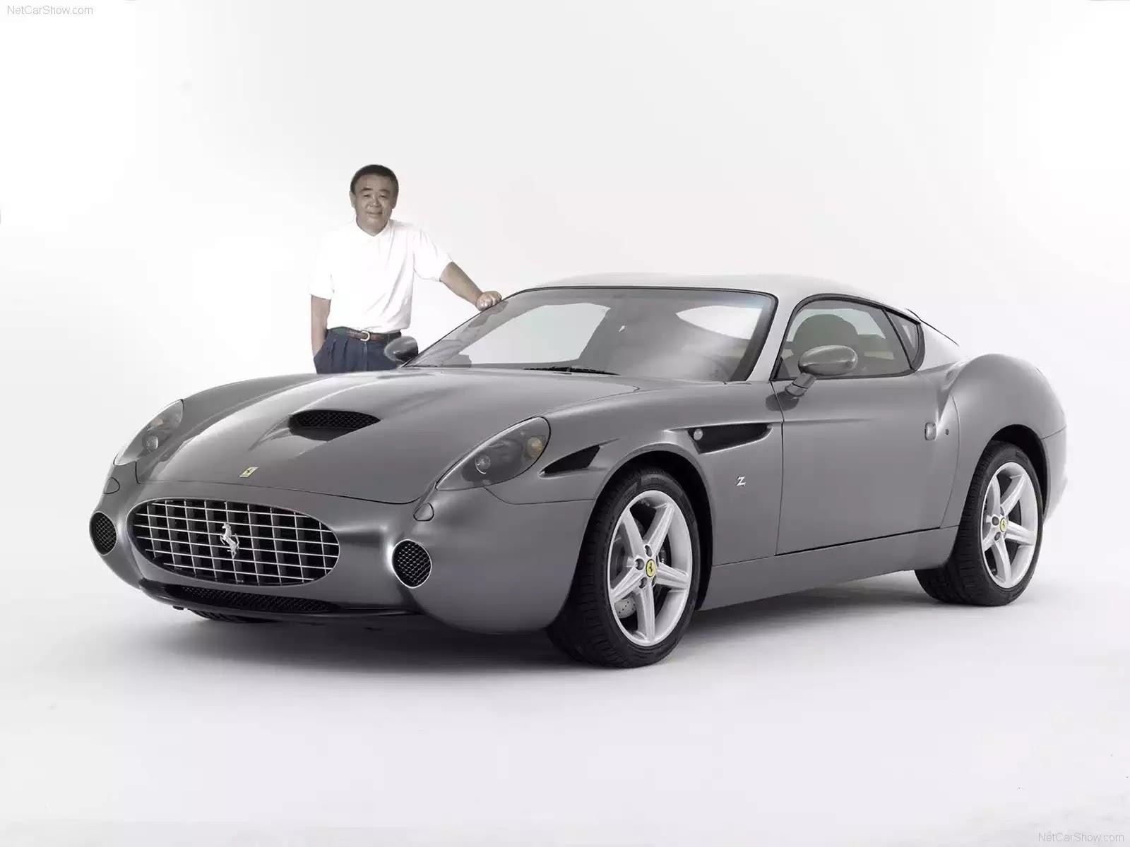Hình ảnh siêu xe Ferrari 575 GTZ Zagato 2006 & nội ngoại thất