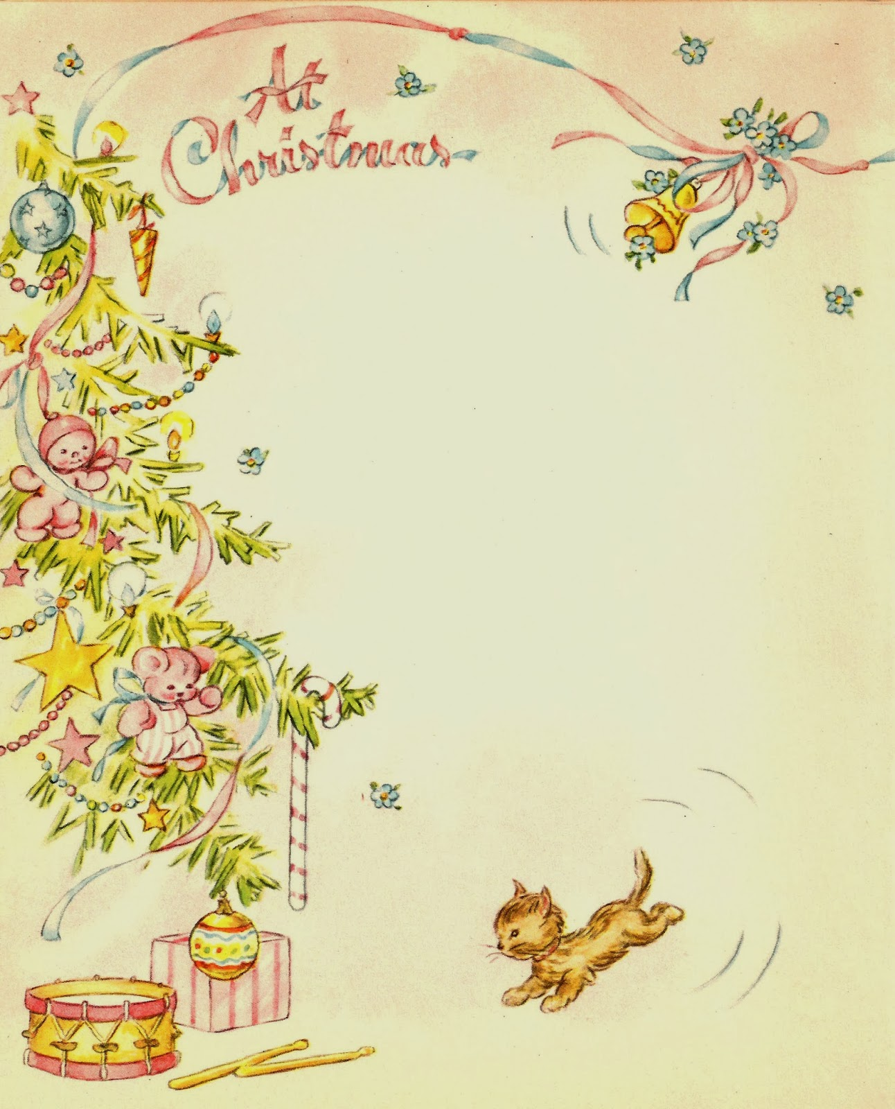 Vintage Christmas Backgrounds Free christmas clip art: