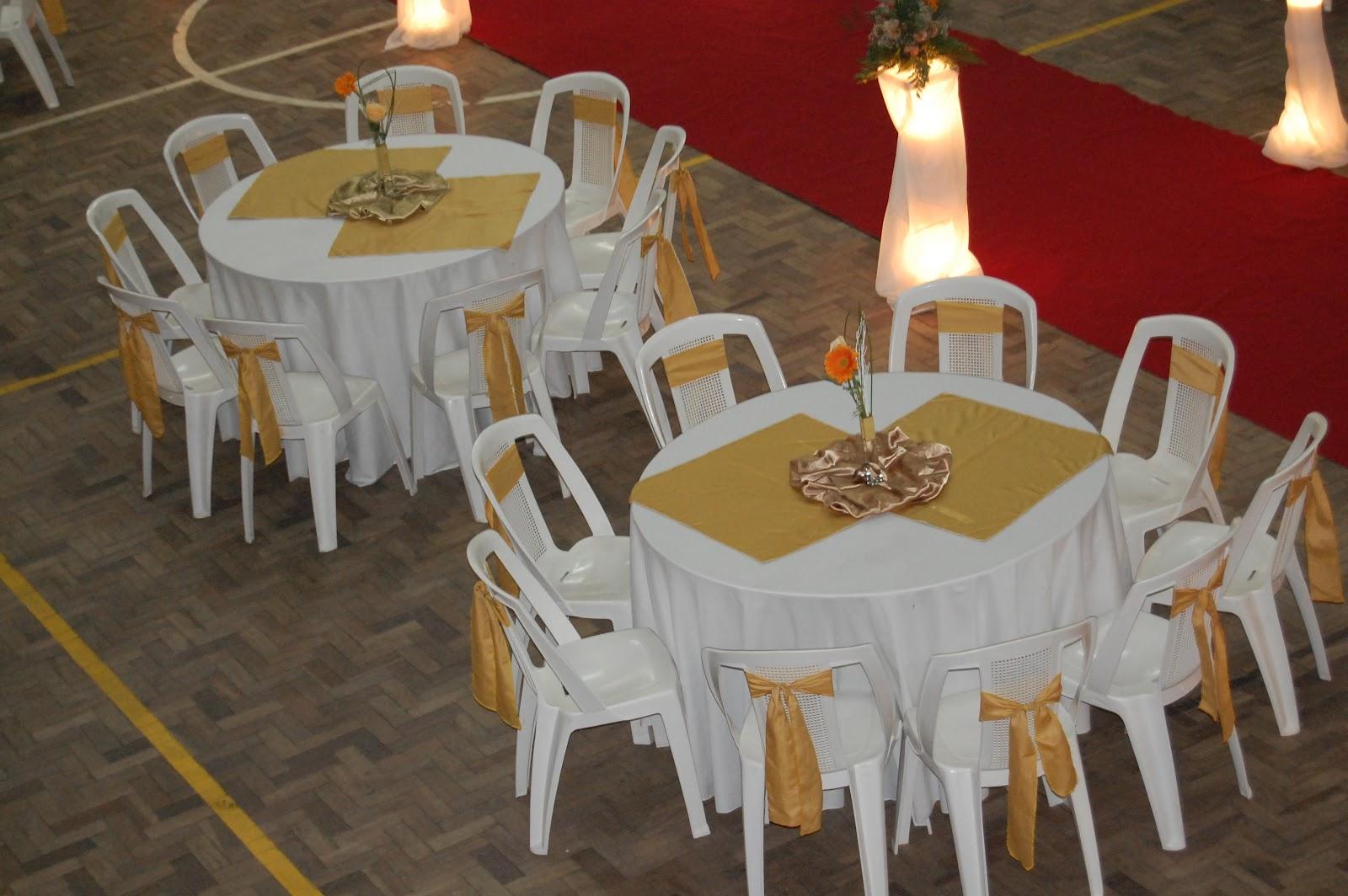 Gurias Decorações de Festas Casamento Branco e dourado