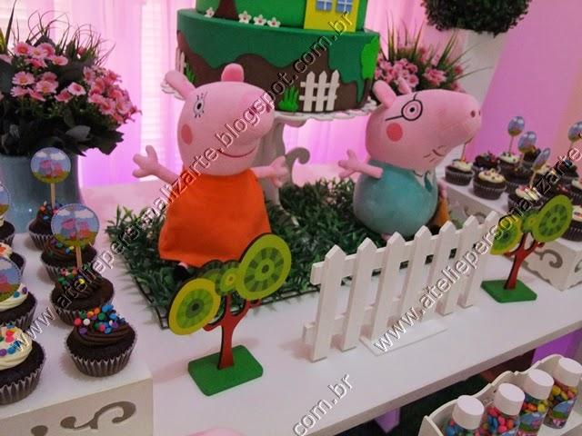 Decoração de aniversário infantil Peppa Pig