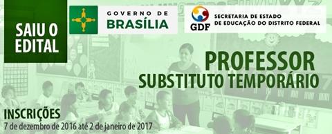 Apostila SEE DF PROFESSOR SUBSTITUTO 2017