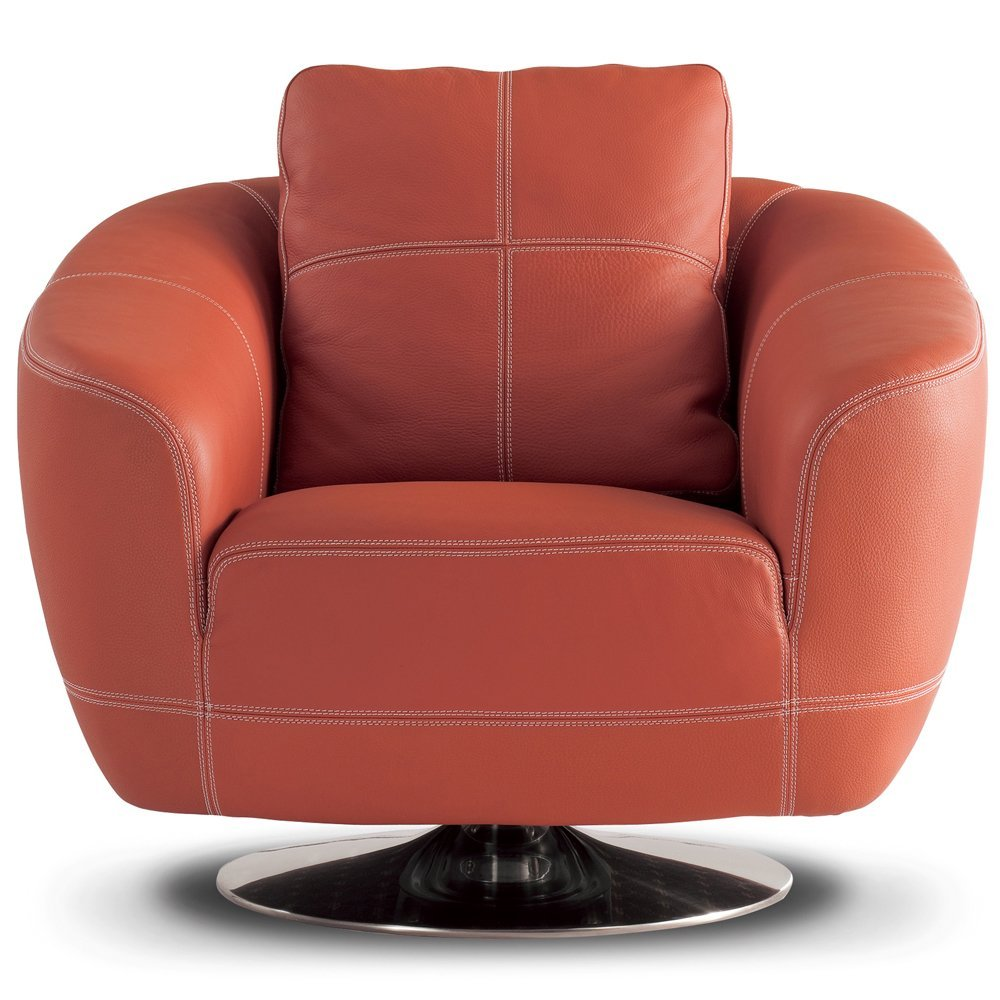 Total fab mid century modern swivel chairs for Modern swivel chair