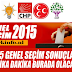 Tüm Türkiye İl İlçe 07.Haziran Seçim Sonuçları Canlı Takip