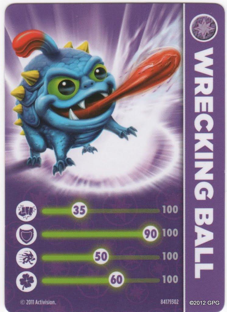 Skylanders Spyro S Adventure Skylanders Wrecking Ball
