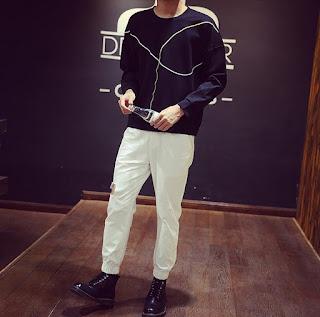 Jual Sweater Korea Model Kaos Murah dan Keren