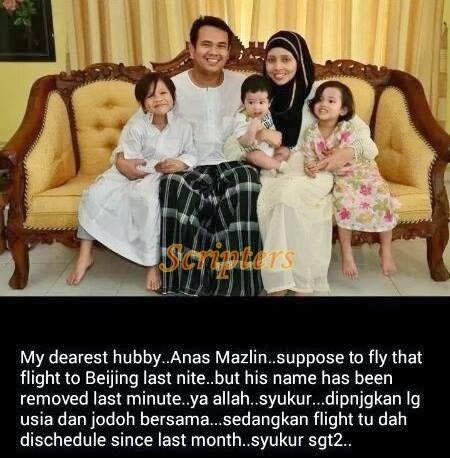 MAS Nafi Juruterbang MH370 Ditukar Saat Akhir