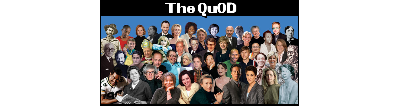 The QuOD - A Who's Who of Who's Out